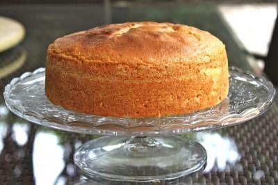 Bizcocho pastelero de vainilla