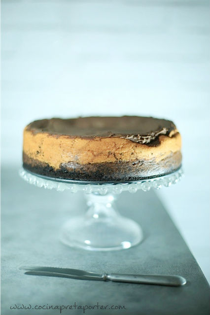 Chocolate cheesecake- portada
