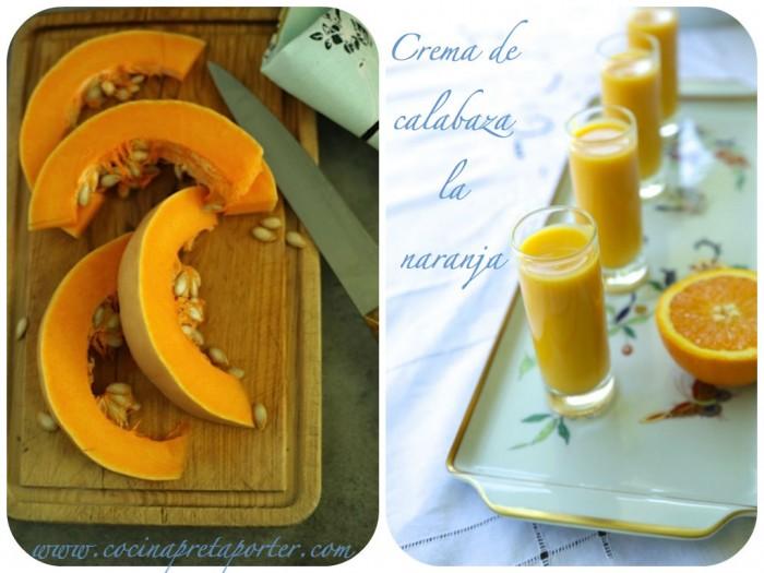 Crema de calabaza a la naranja 2