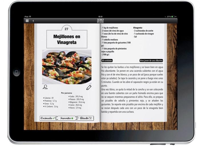 1080 recetas de cocina App