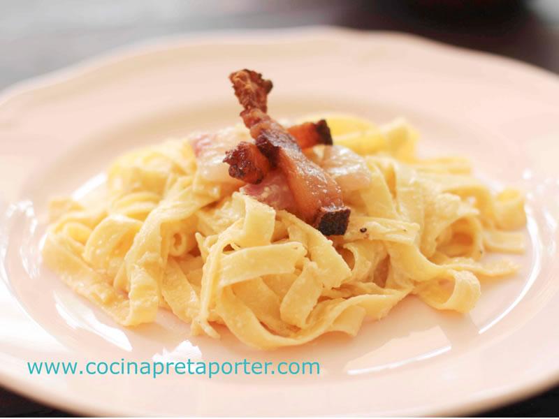 Fettuccine alla Carbonara