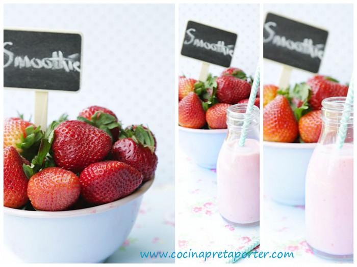 Smoothie de fresas 6