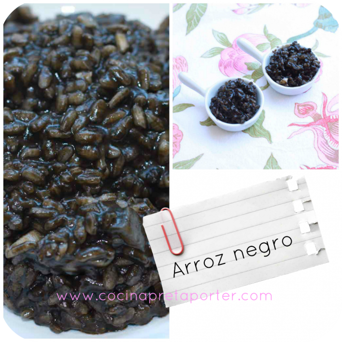 arroz negro collage