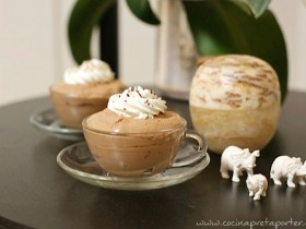 mousse de capuchino