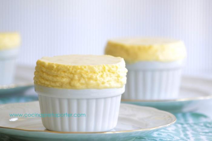 soufflé de limón